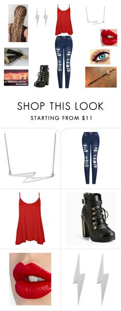 """""""Avenger High (Thor's daughter)"""" by cjfulmer on Polyvore featuring 2LUV, WearAll, Torrid, Charlotte Tilbury and Edge Only"""