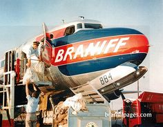 Braniff Douglas DC-6 at Dallas Love Field
