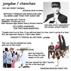 A beginners guide to EXO: Chen, the trolling queen of EXO, you can currently find him with the sassiest look in the Call Me Baby MV xD