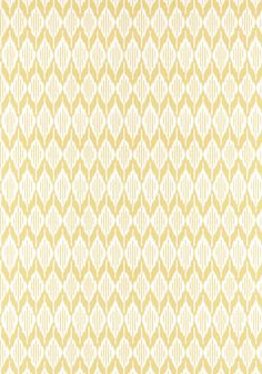 BALIN IKAT, Yellow, AT79135, Collection Small Scale from Anna French
