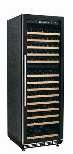 WL440DF Dual Zone Weinkühler für den Connaisseur, PROMO auf www.swisscave.ch!  • 450 Lt., bis 210 Fl.  • 14 ausziehbare Holztablare • Chromstahltürgriff- und Rahmen, Ganzflächige Glastüre • Abschliessbar • Aktivkohlefilter für gute Luft • Temp.-Bereich: 5-12 und 12 - 22 Grad) • Luftfeuchtigkeit: >60% •  220V / Klimaklasse A / Kompressorgekühlt • 35dB(A) • Vibrationsfrei • Konvektions- und Umluftkühlung • 2 Anzeigen (IST / SOLL-Temp.), LED-Beleuchtung • Winter-Heizfunktion • Abm…