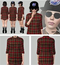 Shirt by Art Sims - Free Sims 3 Clothing Downloads ARTSIMS Custom Content Caboodle - Best Sims3 Updates and Finds