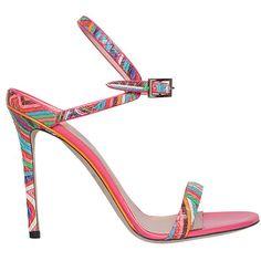 Emilio Pucci Leather sandal