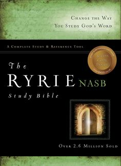 Ryrie Study Bible: New American Standard Bible,, Genuine Leather, Red Letter