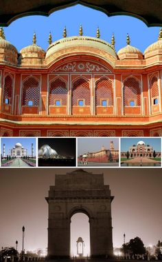Golden Triangle Tour 8n/9d - Tours From Delhi - Custom made Private Guided Tours in India - http://toursfromdelhi.com/golden-triangle-tour-package-8n9d-delhi-samode-jaipur-agra-khajuraho-orchha-gwalior/