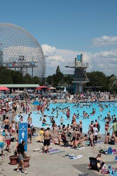 Best Montreal Outdoor Summer Pools | MTL Blog