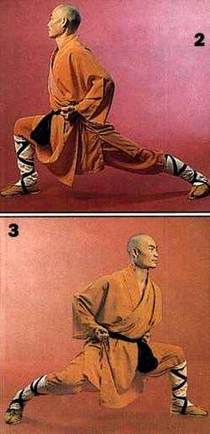 Wu shu - Taolu - Gong Bu or Bow Stance
