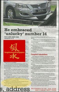 feng shui master singapore media coverage