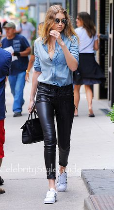 Gigi Hadid's Outfit Looks Pretty Simple — Until She Turns Around