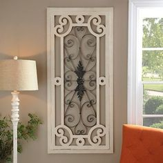 With a vintage design, our Distressed Cream Wood and Metal Plaque will infuse your wall decor with a quaint, rustic style. Charm your space with this plaque! Decor, Kirkland Home Decor, Farmhouse Decor, Metal Wall Decor, Rustic Winter Decor, Metal Walls, Mantle Decor, Wood Shutters, Wood And Metal