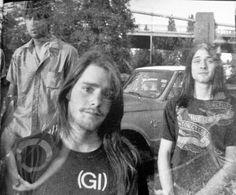 .Nirvana, Tacoma, September 1988 //Pinterest:@x_l1bby_x