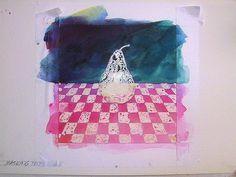 Watercolor Techniques: Masking (Frisket) Watercolor Tutorial - Part 1 © 2010 G. Conley