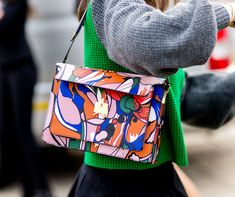 Image result for art inspired purse street style