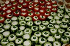 Holiday Ideas: Easy Party Food: Cucumber Rings