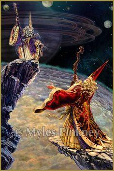 Myles Pinkney Online Gallery - Sorcery