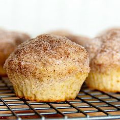 French Breakfast Muffins - I've committed muffiny! (click for definition). That's sugar and cinnamon these French breakfast muffins are coated in. WOWZA!