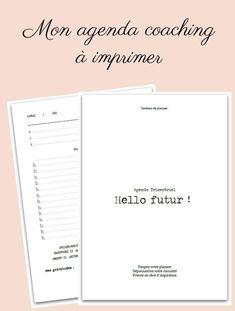 Agenda Hello Futur ! Coaching en développement personnel - produit num – Shirley Chiche