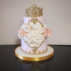 Princess cake by The Custom Piece of Cake