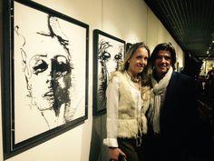 """Art Exhibition by João Feijó """"Zen Connection"""" Casino Estoril, Portugal 2014"""