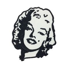Marilyn Monroe patch Embroidered Iron On Patches sew on patches women patch