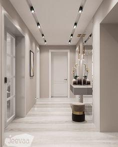 La imagen puede contener: mesa e interior House Ceiling Design, Ceiling Design Living Room, Home Room Design, Dream Home Design, Home Interior Design, House Design, Design Studio, Home Entrance Decor, House Entrance