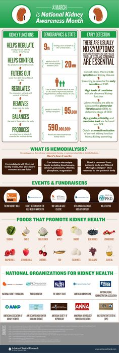 Kidney Disease Infographic