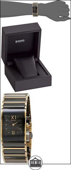 Rado 160.0788.3.017 - Reloj unisex, correa de cerámica color dorado  ✿ Relojes para mujer - (Lujo) ✿