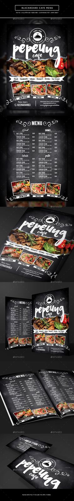 Simple Brush Restaurant Menu Template PSD Best Food Menu - food menu template