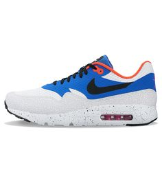 new style 9a091 1956b Nike Air Max 1 Ultra Essential White   Black   Varsity Royal - Nike Air Max