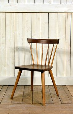 Cottage Life Sticks Chair in Walnut - Wooden Painted Chair - Oaksmith Interiors