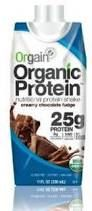 Grocery Packaged: Orgain Organic Protein Shake (25 g), Creamy Chocolate, $3.39