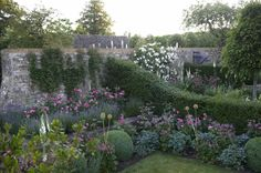 Jinny Blom's gardens at Temple Guiting, a 15th-century manor in Gloucestershire, England.