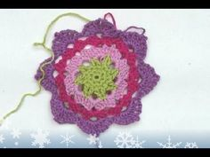 "▶ Advent Calendar * December 08 * Crochet Star ""Estaria"" - YouTube"