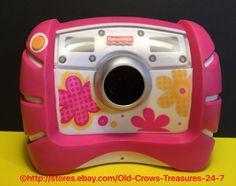 2010 Fisher Price Kid Tough Pink Digital Camera Child's Camera