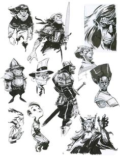 E. Fernandez  ✤    CHARACTER DESIGN REFERENCES   キャラクターデザイン • Find more at https://www.facebook.com/CharacterDesignReferences if you're looking for: #lineart #art #character #design #illustration #expressions #best #animation #drawing #archive #library #reference #anatomy #traditional #sketch #development #artist #pose #settei #gestures #how #to #tutorial #comics #conceptart #modelsheet #cartoon #warrior    ✤