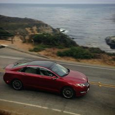 Nice Lincoln 2017: Views for miles. The #LincolnMKZ in Ruby Red.... Check more at http://24cars.top/2017/lincoln-2017-views-for-miles-the-lincolnmkz-in-ruby-red/