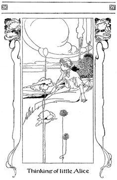 Alice's Adventures in Wonderland,1907. Illustrations: Charles Robinson - Google Search
