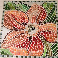 This is a mosaic table top...I could make a quilt like this!