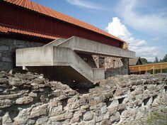 Hedmark Museum, Hamar, Norway, Sverre Fehn
