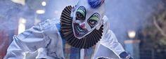 Canada's Wonderland Halloween Haunt 2013 Darkness Falls, Wonderland, Halloween Face Makeup, Joker, Canada, Toronto, Dogs, Fictional Characters, Style