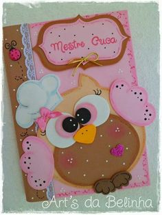 Manualidades en foami Kids Crafts, Foam Crafts, Diy And Crafts, Paper Crafts, Merian, Decorate Notebook, General Crafts, Punch Art, Beading Tutorials