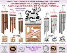 Custom Wind Chimes Made To Your Specifications!http://www.chimesofyourlife.com/custom-wind-chimes/custom-wind-chimes/