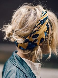 Allow Us to Reintroduce You to These Hair Accessories 09d9d98c9a1
