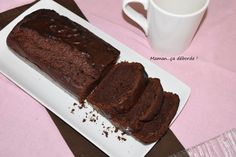 Cake au chocolat noir (IG bas) - Maman...ça déborde