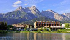 Austria: Ritzenhof Hotel & Spa am See in Salzburg Spa Hotel, Free Hotel, Wellness Hotel Salzburg, Beautiful Hotels, Beautiful Places, Lakeside Hotel, Carinthia, Hotels And Resorts, Scenery