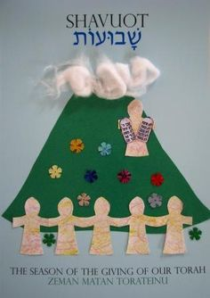Moses coming down Mt Sinai – a children's craft activity for Shavuot Craft Activities, Preschool Crafts, Fun Crafts, Jewish Crafts, Church Crafts, Bible Crafts For Kids, Art For Kids, Simchat Torah, Hebrew School