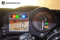 Ya tengo indicador de marcha en mi moto, genial. GIpro X-Type G2 para Honda CBR600F4i