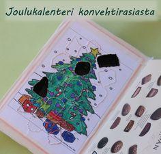 Askartele itse joulukalenteri