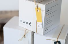 This project was a response to a brief which required the design of a brand identity, story and packaging for three variations of a chosen food product.   I chose to brand and package a range of traditional Japanese green teas. The name 'Sado' is a Japanese word that translates literally to 'way of tea'. The brand aims to reflect authentic Japanese tea culture and the sustainable packaging incorporates traditional Japanese materials and packaging techniques..