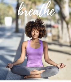 My word for the year is breathe